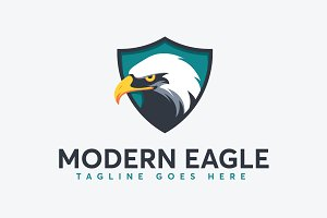 Modern Eagle Logo Template