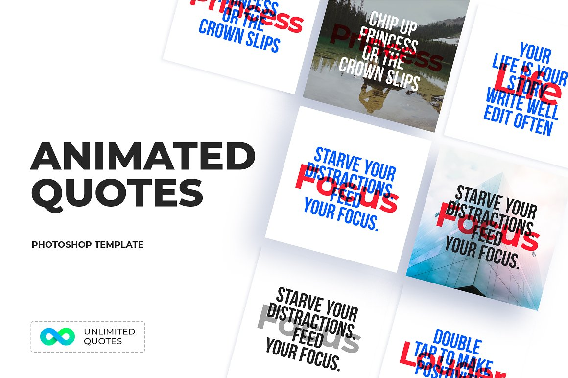07-ANIMATED Quotes Templates