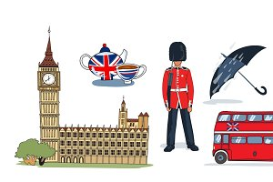 London Icons Set