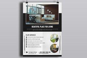 Interior Design Flyer - V833