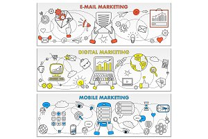 Mobile E-mail and Digital Marketing