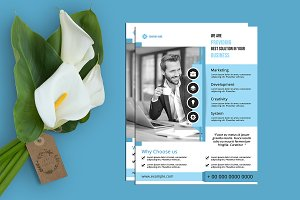 Business Flyer Template - V834