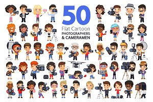 Photographers & Cameramen Characters