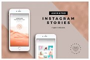 ANIMATED Copper Instagram Stories