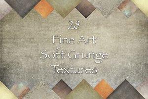 28 Fine Art Soft Grunge Textures