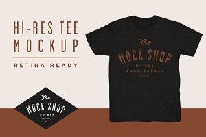TMS Pro: Crew Neck Tee Mockup