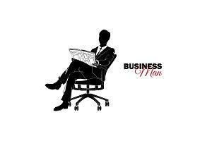 Businessman, Manager. A man