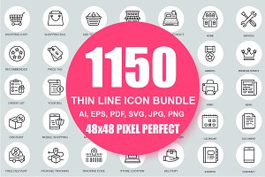 Alex Line Icons Bundle