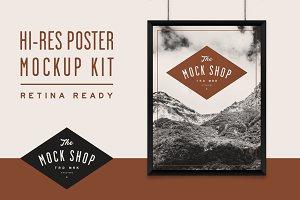 TMS Pro: Poster Mockup Kit