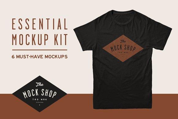 Free Essential Mockup Kit