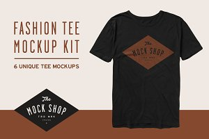 Fashion Tee Mockup Kit