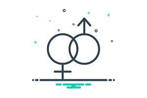 Unisex icon