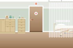 Hospital personal medical ward inter