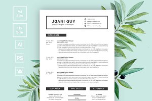 Creative Resume | CV Design