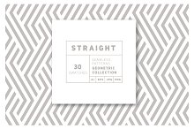 Straight Seamless Patterns Bundle by  in Patterns