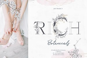 Rich Botanicals & Monograms