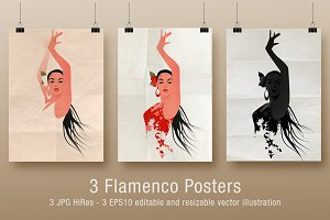 Spanish Flamenco Dancer I