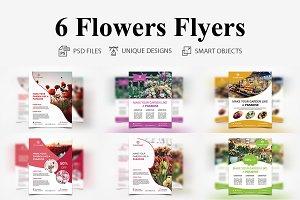 6 Flowers Flyers