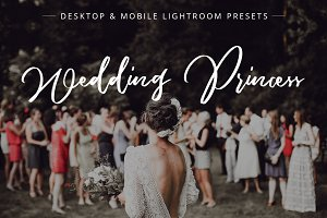 Wedding Princess Lightroom presets