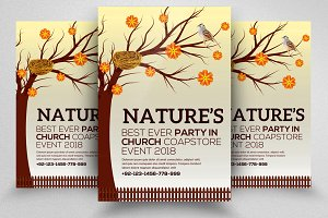Nature Flyer Psd Template 05