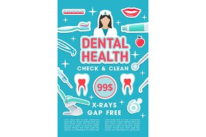Dental clinic checkup and treatment