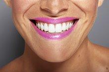 Female closeup smiling