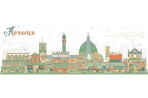 Florence Italy City Skyline