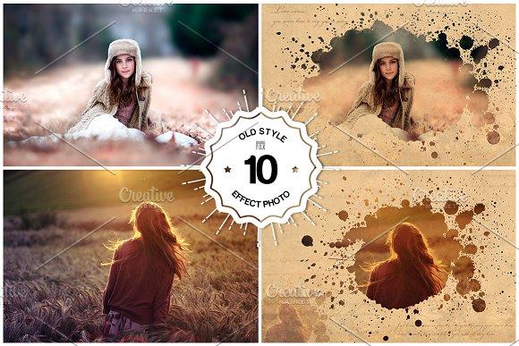 10 Effect photo templates