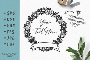 Garland - Wedding SVG & Clipart