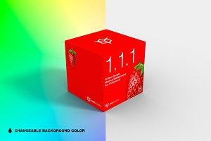 1.1.1 Simple 3D Box Mockup 2.0