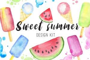 Sweet Summer Design Kit