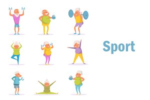 Old people sport