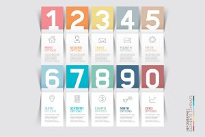 Infographic Number Options Template