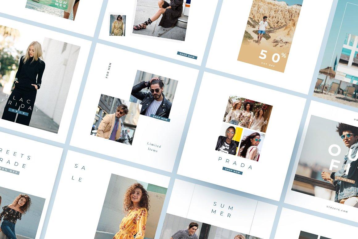 Streets - Instagram Pack