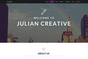 Julian - Creative Business Template