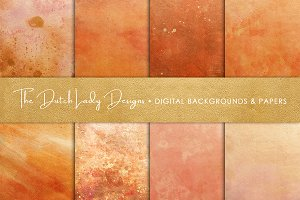 Copper & Rose Gold Textures