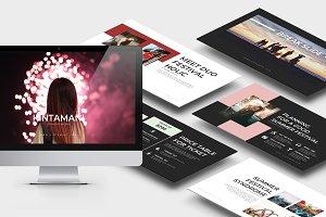Kintamani : Summer Keynote Template