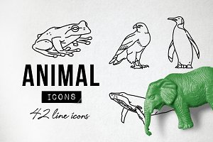Wild Animal Icons Pack