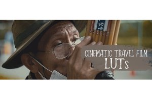 Cinematic Travel Film LUTs