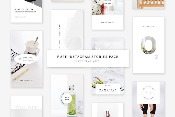 Pure Instagram Stories Pack