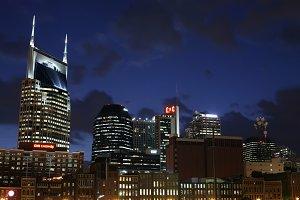 Nashville Tennessee Skyline