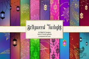 Bollywood Twilight Backgrounds