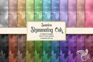 Shimmering Oak Digital Paper