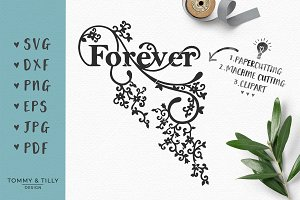 Forever - Wedding SVG & Clipart