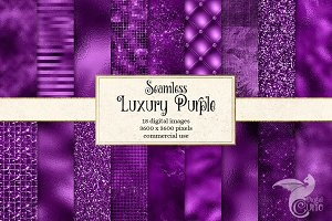 Luxury Purple Textures