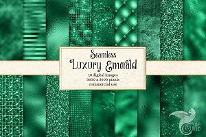 Luxury Emerald Textures