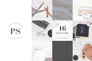 16 Photos - Autumn Sweater Bundle