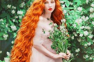 Fabulous pale skin model