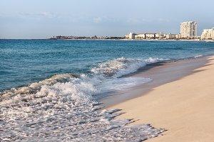 Sunny Beach And Blue Sea