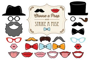 25 Printable Classic Photo Props
